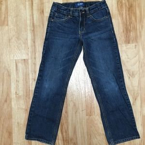 Boys Old Navy Straight Droit Blue Jeans